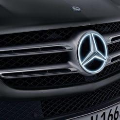 Genuine Illuminated Mercedes Star 2