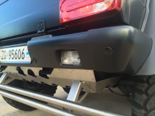 G63 AMG 6x6 Parktronic Retrofit - Rear Bumper
