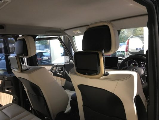 Mercedes G Class OE Rear Seat Entertainment full view