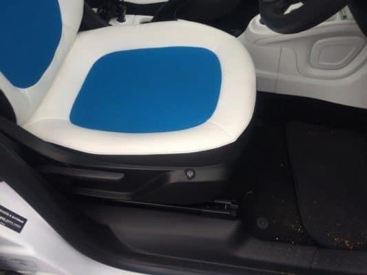 Smart ForFour Heated Seats