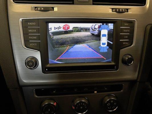 VW Golf Mk7 Reverse Camera Image (Close)