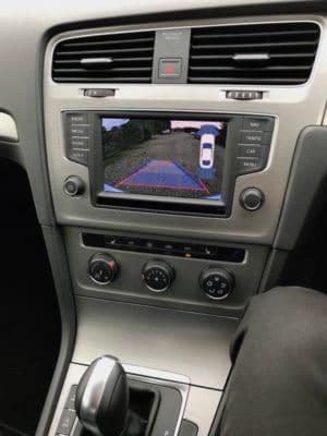 VW Golf Mk7 Reverse Camera Image