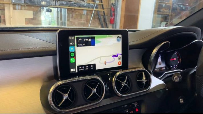 Mercedes X class CarPlay