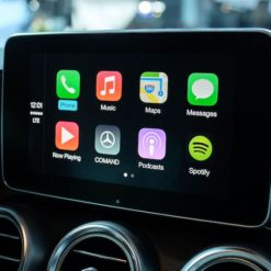 Mercedes Apple CarPlay and Android Auto