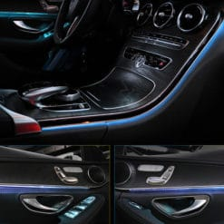 Mercedes Ambient Lighting For C Class