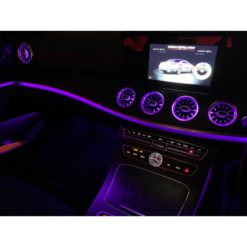 Ambient Lighting Turbo Vents for Mercedes