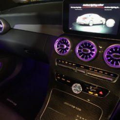 Mercedes C/GLC Turbo Vents