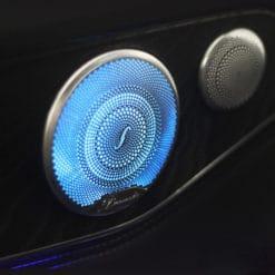 Ambient Lighting Speaker Grilles for Mercedes