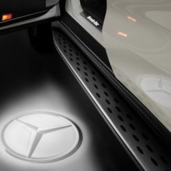 Mercedes Star Laser Logo